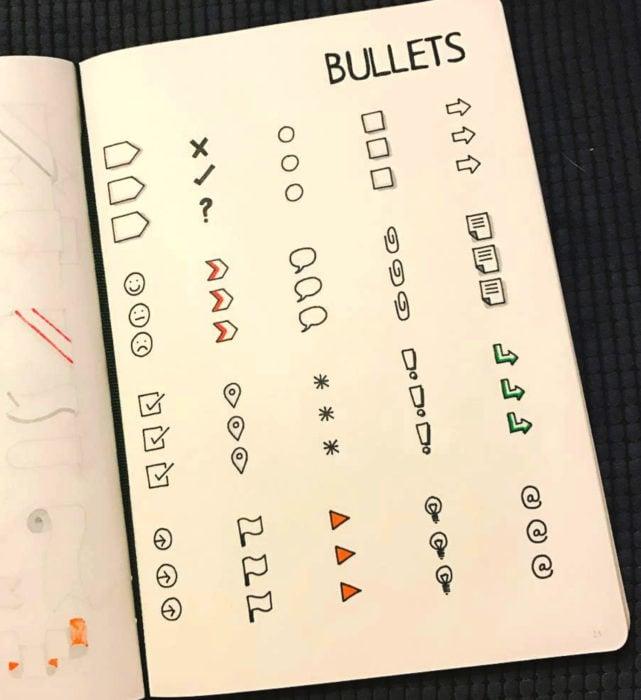 Apuntes bonitos en libretas para estudiar en la escuela
