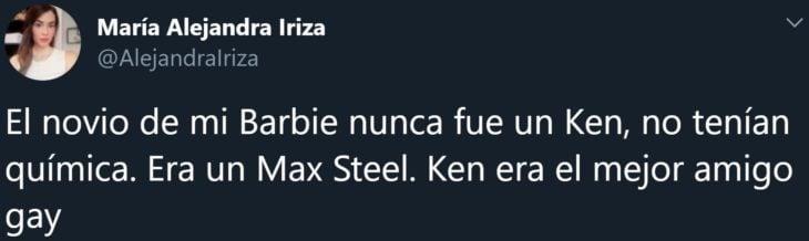 Usuarios de Twitter cuentan que el novio de su Barbie no era Ken sino el juguete de acción Max Steel