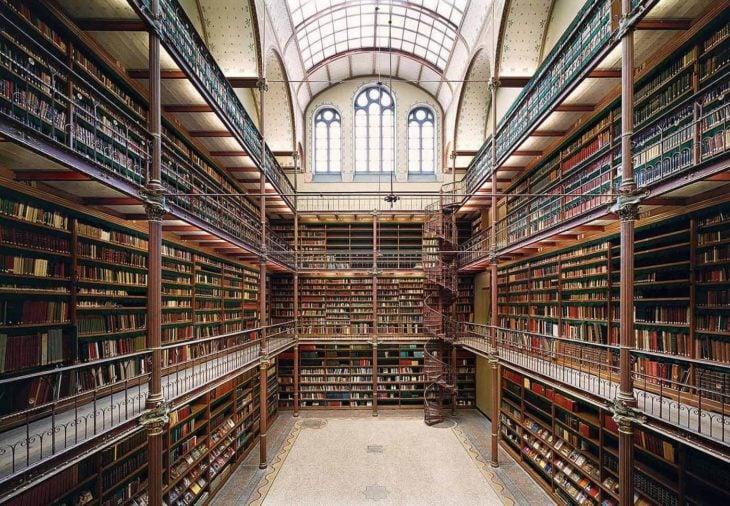 Biblioteca de investigación del Rijksmuseum en Amsterdam, Países Bajos