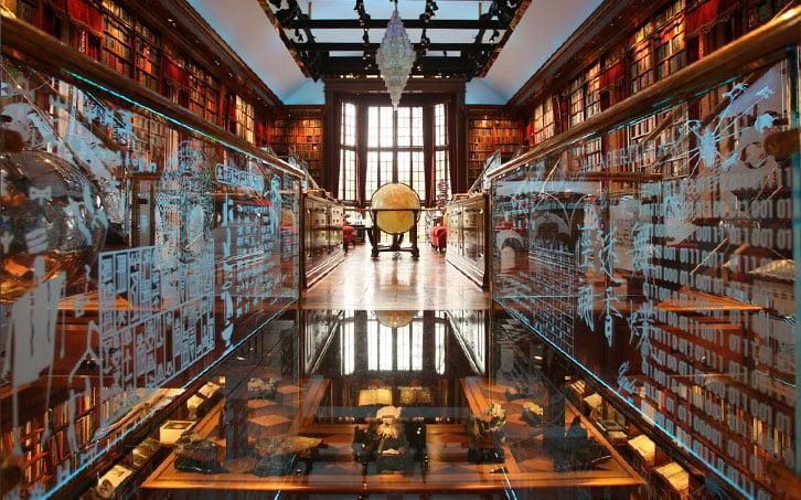 Biblioteca de la imaginación humana de Jay Walker en Stamford, Estados Unidos