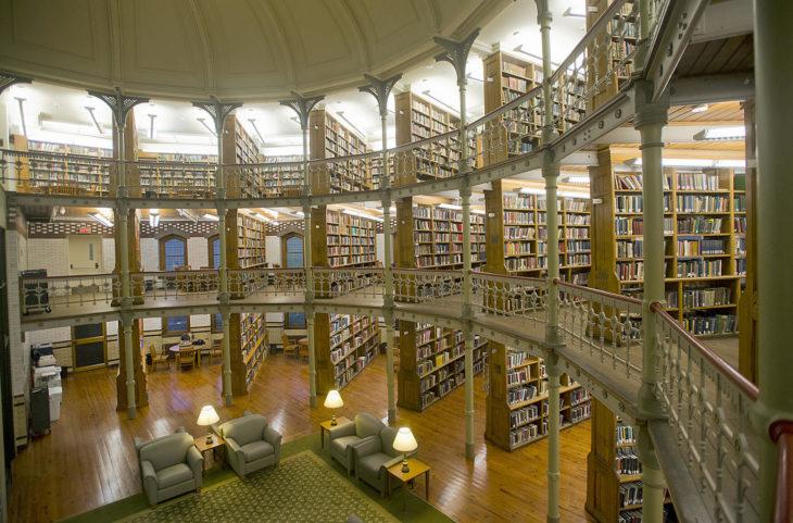 Biblioteca de la Universidad de Lehigh en Lehigh, Pensilvania