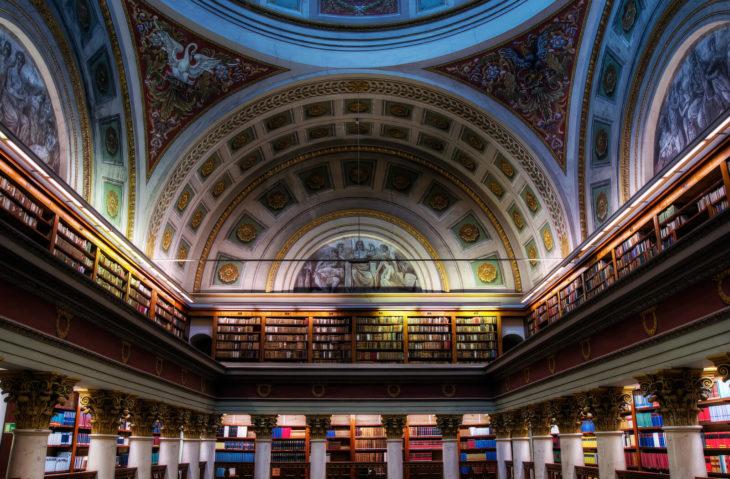 Bibiloteca Genaral de la Universidad de Coimbra en Coimbra, Portugal
