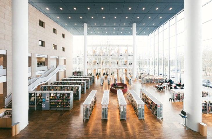 Biblioteca de la ciudad de Malmö en Malmö, Suecia