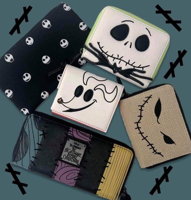 Cartesas, blancas, negras, mostaza, inspiradas en El extraño mundo de Jack