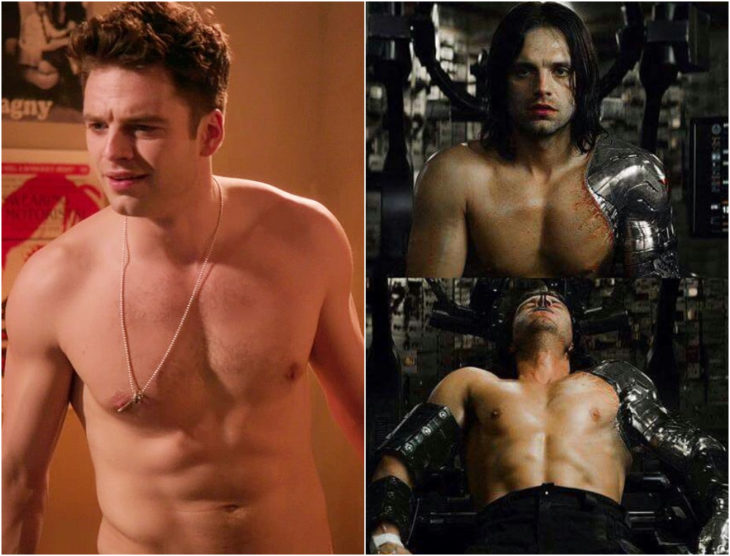 Sebastian Stan antes y después de entrar a Marvel
