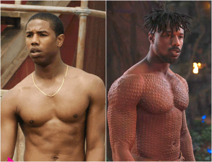 Michael B. Jordan antes y después de entrar a Marvel