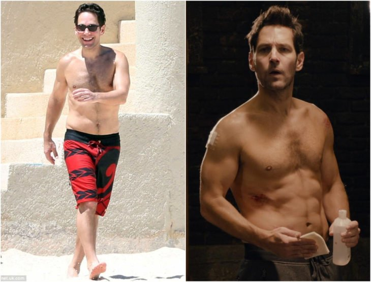 Paul Rudd antes y después de entrar a Marvel