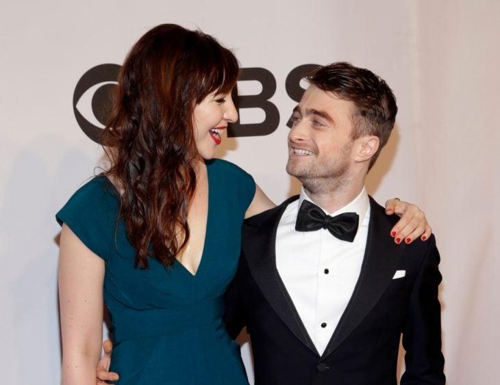 Daniel Radcliffe y su novia