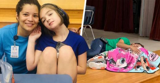 Esta conserje fue la única en ayudar a una niña durante una crisis