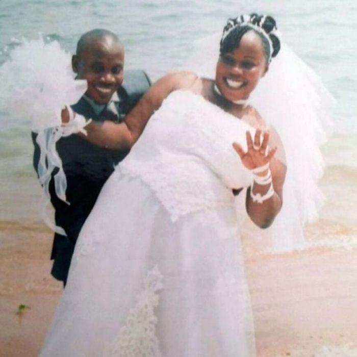 Foto de la boda de Balenga Kalala y Noela Rukundo