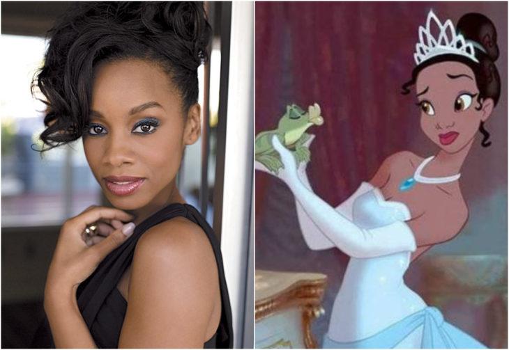 Anika Noni Rose, Tiana, La princesa y el sapo, película, Disney