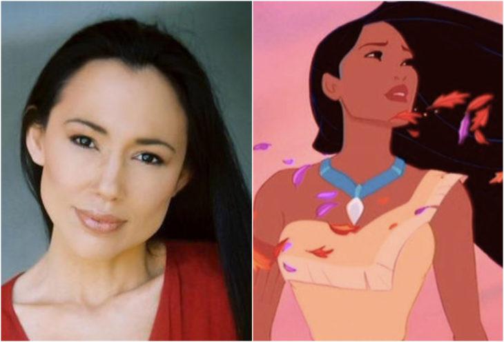 Irene Bedard, Pocahontas, película, Disney
