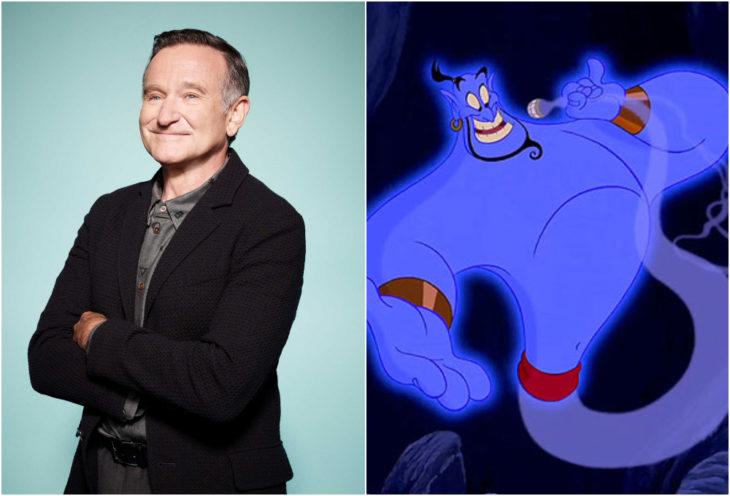 Robin Williams, el genio de la lámpara, Aladdin, película, Disney