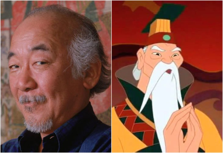 Pat Morita, empreador de China, película, mulan, disney