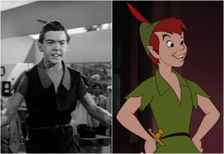 Bobby Driscoll, Peter Pan, película, Disney