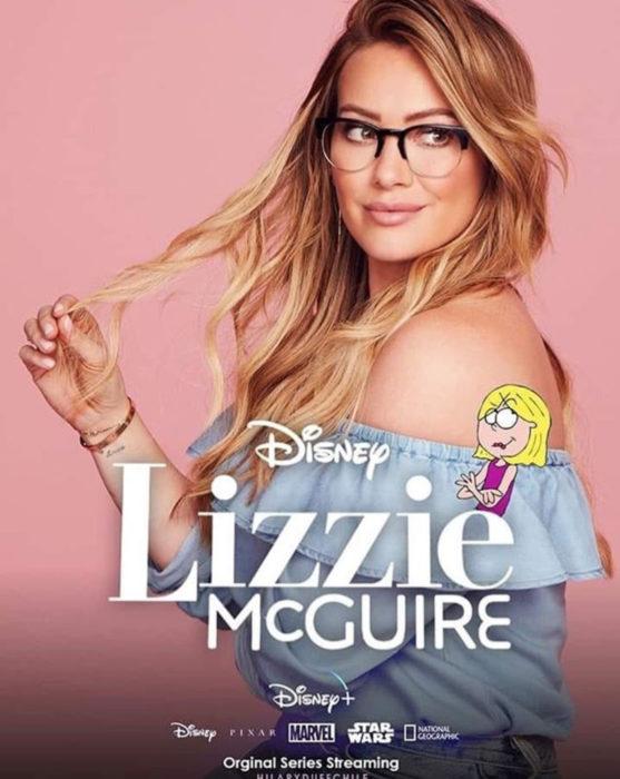 Hilary Duff como Lizzie McGuire