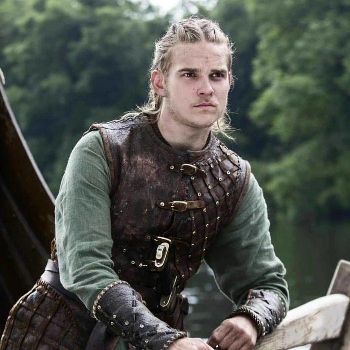 Marco Ilsø caracterizado para su papel en Vikings