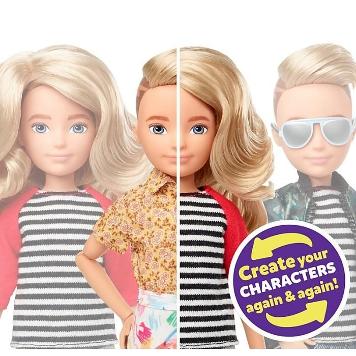 Muñeca Barbie sin género