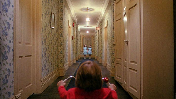 escena de la película El Resplandorde Kubrick