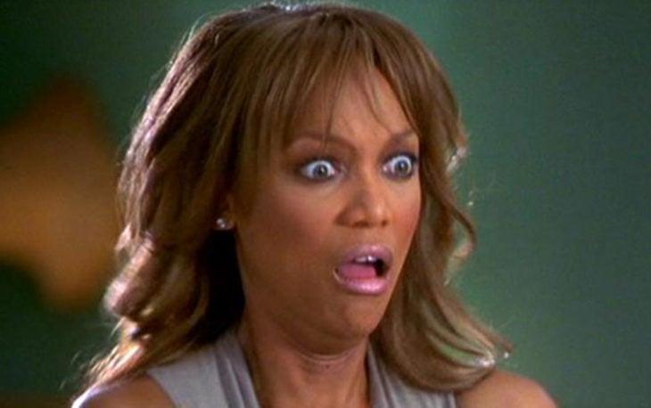 Meme de Tyra Banks asustada