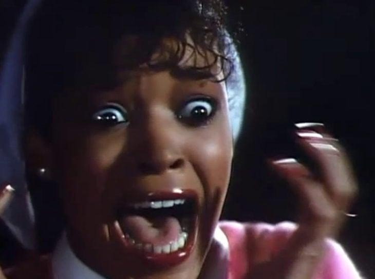 Meme de mujer negra gritando, Michael Jackson, Thriller