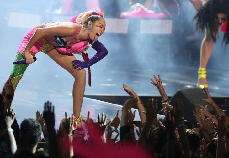 Miley Cyrus y fans