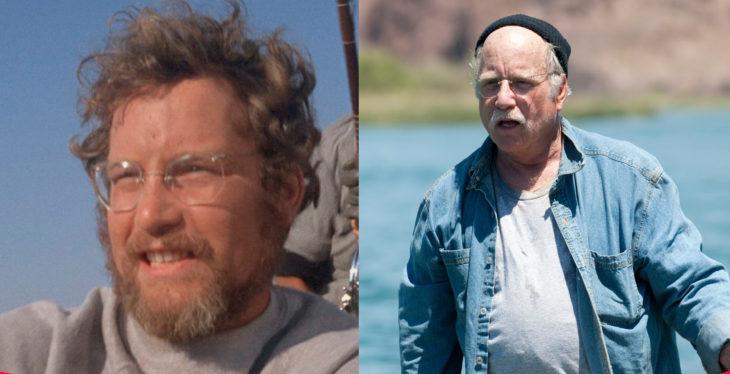 Richard Dreyfuss en Tiburón y en la película de piraña 3d