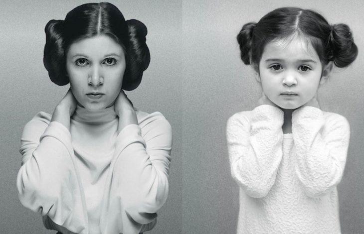 Scout Larson Princesa Leia