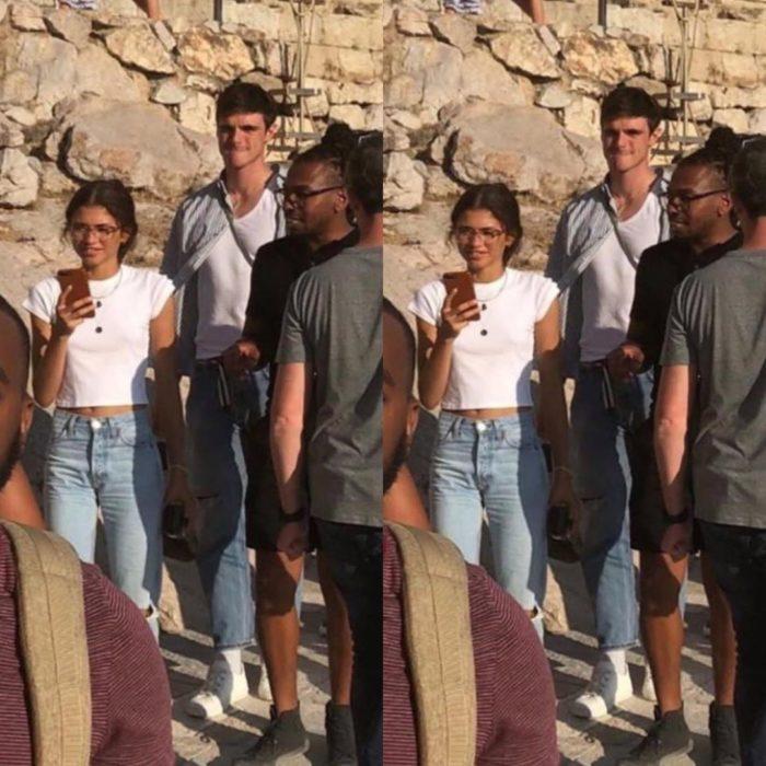 Zendaya y Jacob Elordi de vacaciones por Grecia