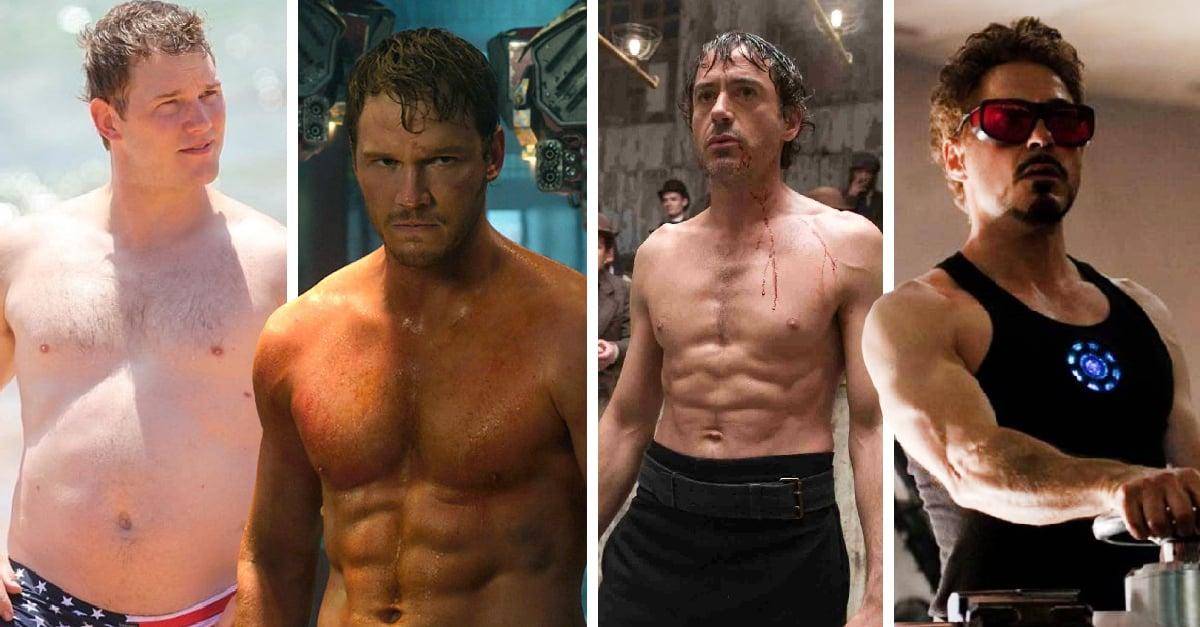 11 Actores antes y después de recibir la llamada de Marvel