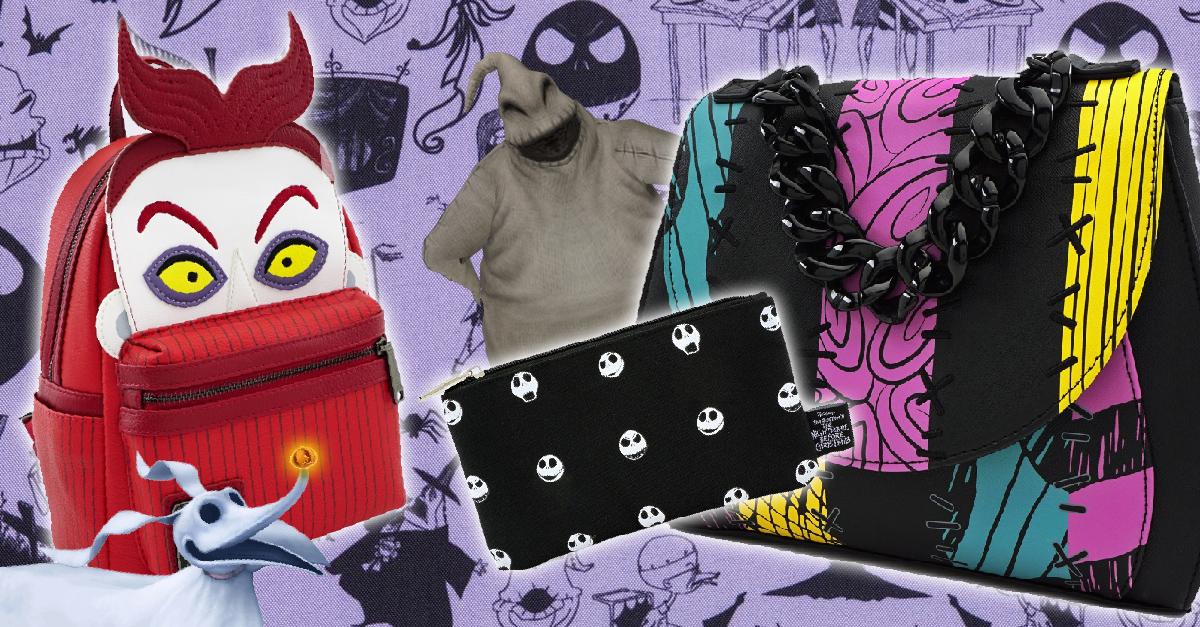12 Bolsos inspirados en 'El extraño mundo de Jack' que te harán amar Halloween