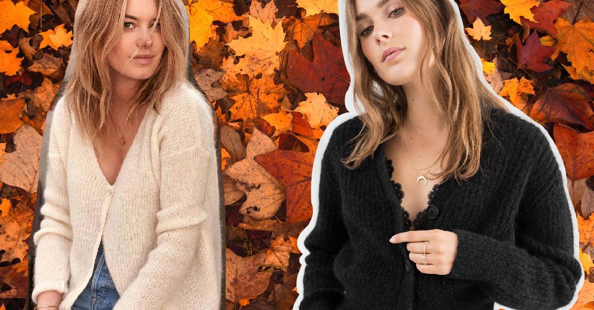 16 Atuendos con cárdigans para dominar el otoño con estilo