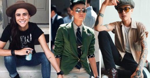 20 Looks para chicas que prefieren la ropa cómoda y andrógina