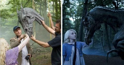 20 Escenas de 'Harry Potter' antes y después de los efectos especiales
