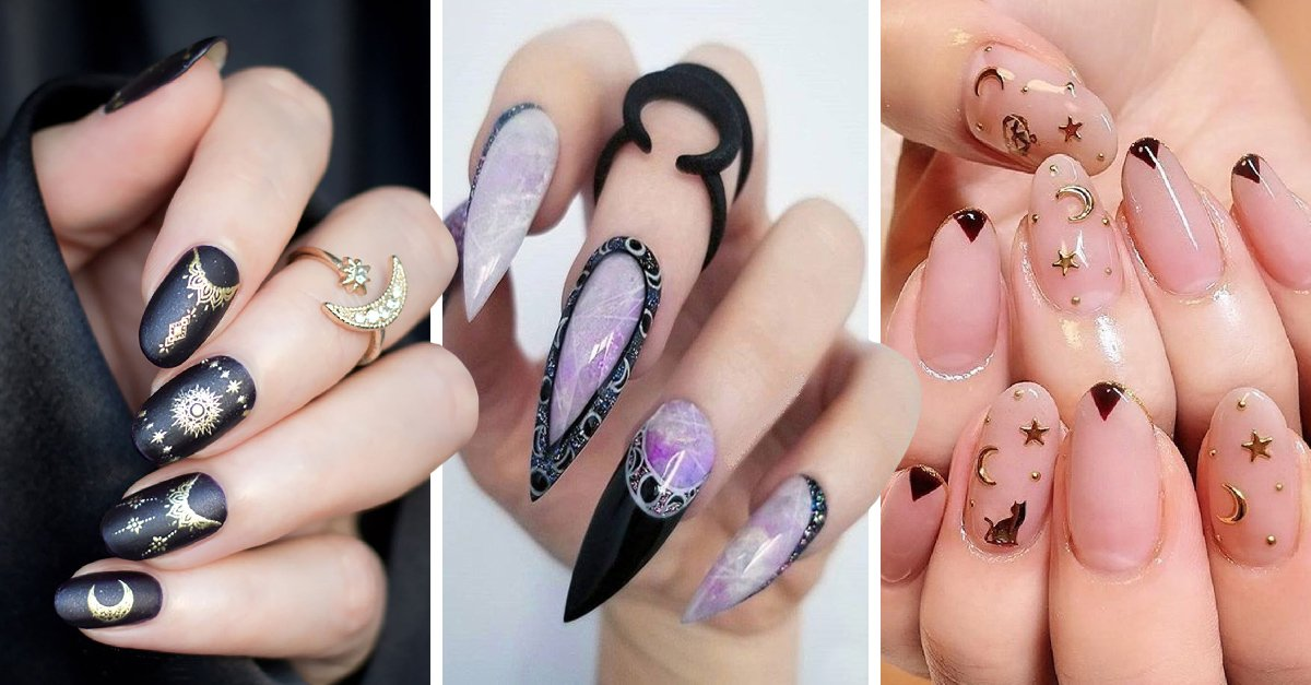 20 Diseños de uñas para ser la más bruja en Halloween