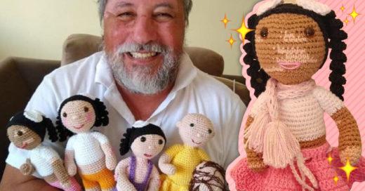 Un hombre brasileño crea Vitilinda, la muñeca con vitiligo que busca romper prejuicios