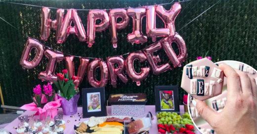 ¿Terminó un mal matrimonio? ¡Organiza tu fiesta de divorcio, festeja tu libertad!