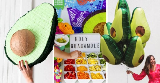 20 Divertidas ideas de decoración para que tu fiesta sea un verdadero guacamole