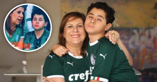 Madre relata partidos a su hijo invidente y es nominada a Mejor Fan