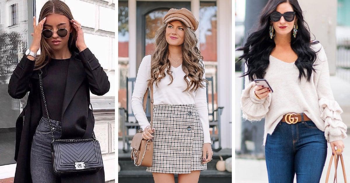 15 Outfits coquetos y sexis para la temporada otoño- invierno