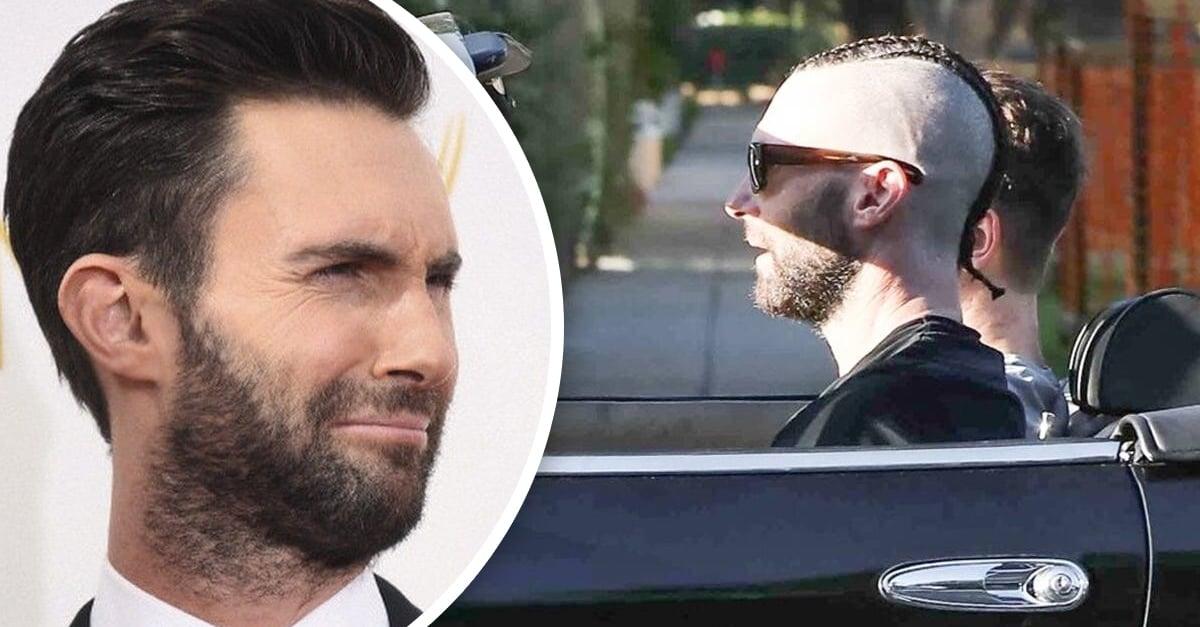 Adam Levine cambia de look y parece un miembro de la película 'Sangre por sangre'