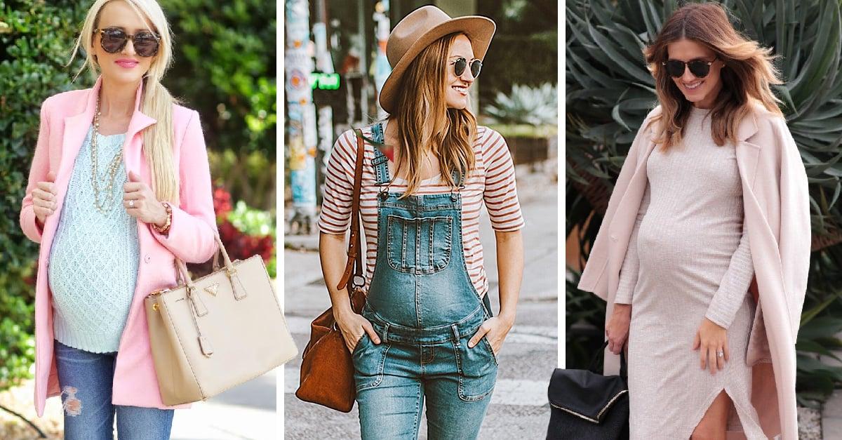 15 ideas de outfits que puedes usar en tu embarazo