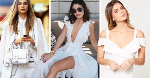 Descubre qué outfit en blanco usar según tu estilo