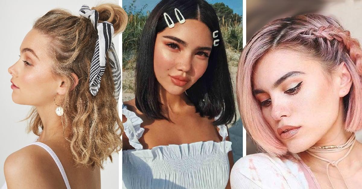 11 Peinados ideales para chicas con el cabello hasta los hombros