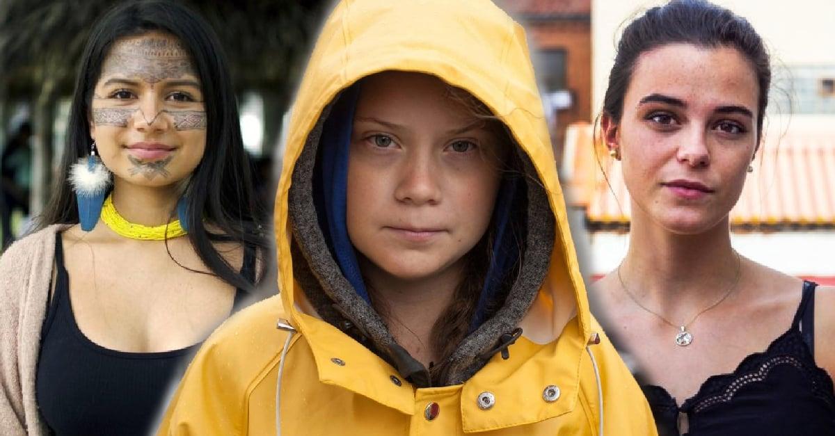 Gretha Thunberg no está sola, más niñas pelean contra el cambio climático