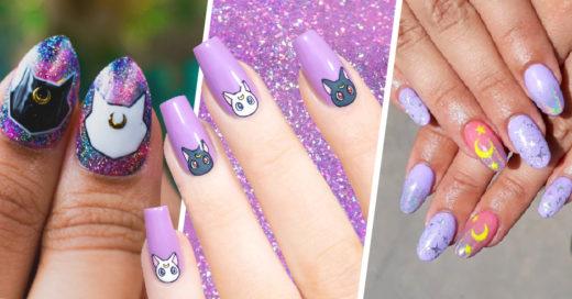 16 Diseños de uñas para completar tu transformación a Sailor Scout