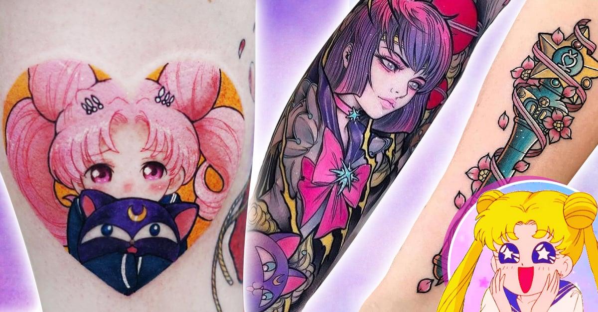 25 Tatuajes de Sailor Moon para recibir toda la fuerza de los astros