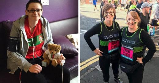 -Planeo su propio funeral, cuatro años después logró la remisión y corre un maratón para ayudar a otros a superar su enfermedad