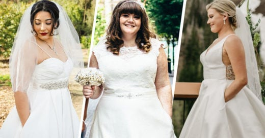 El vestido de novia perfecto no exis.... ¡esperen, tiene bolsas!