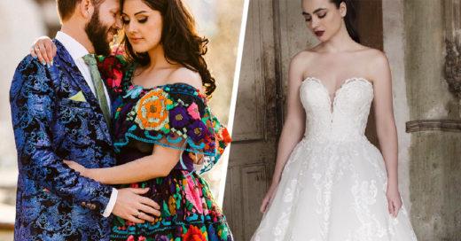 8 vestidos muy mexicanos que querrás usar el día de tu boda
